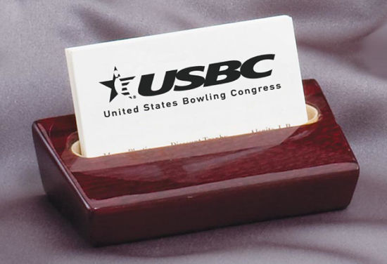 Picture of Rosewood Business Card Holder