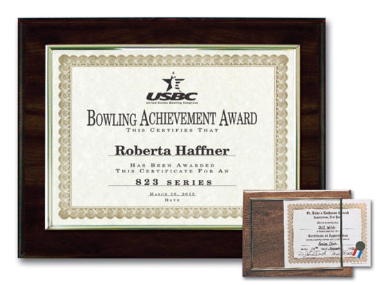 "Picture of E-Z Recognition Plaques(8"" x 10"")"