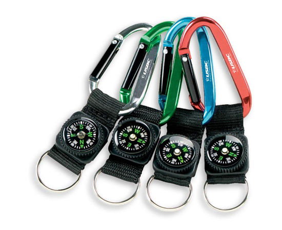 Picture of Carabiner Compasses (National Logo)