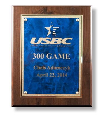 Picture of 300 Game Plaque