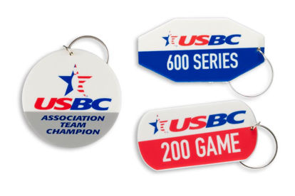Picture of Bag Tags with USBC National Logo - Free Version