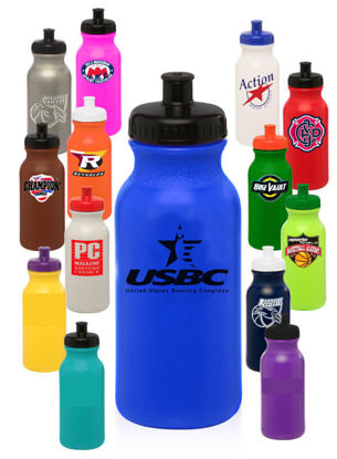 Picture of 20 Oz. Water Bottles (State And Local Logo)